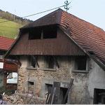 Sanierung Einfamilienwohnhaus Yach vor dem Umbau