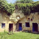 Maisons troglodytes de Forges- Gite des Nerleux, 8-12 p