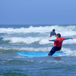 Surf class beginners intermediate Monte Clerigo Arrifana Portugal