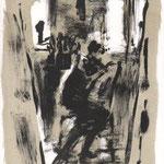 Marika Voß, Im neuen Atelier, Farblithog raphie, 2002, 129-170, 29,0 x 21,0 cm