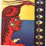 Lutz Wierszbowski , o.T., Farbsiebdruck, 2002, A.P., 28,5 x 27,0 cm