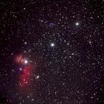OrionGürtel auf Teneriffa aufgenommen mit Canon und 500mm Objektiv