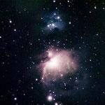 M42 OrionNebel aufgenommen auf Teneriffa mit Nikon D40x 300mm Objektiv