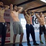 v.l.n.r.: Fabian Getto, Julian Braunagel, Eduardo Carillo Duarte, Jörg Altmann