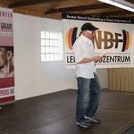 Martin Schaaf bei seiner Begrüßungsansprache