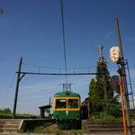 月潟駅の夏