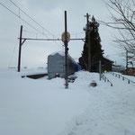 月潟駅の冬(1)