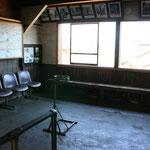 旧月潟駅舎 待合室