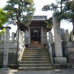 角兵衛地蔵尊(駅入口付近)