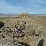 Balade entre les blocs de granite