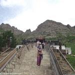Montée au temple