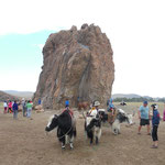 Le rocher sacré de Taikhar Chuluut