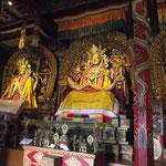 L'intérieur du monastère d'Erdene Zuu Khiid