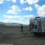 Dernier bivouac mongol