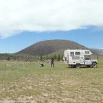 Au pied du volcan Khorgo