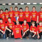 männliche B-Jugend - Meister der Landesliga (und Aufstieg in die MB-Oberliga)