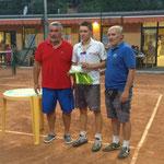 Davide Negrotti, il vincitore del torneo