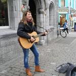 Straßenmusik in Galway, Irland