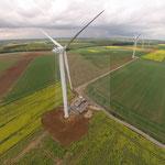 Parc éolien NORDEX à Fillières (Meurthe-&-Moselle)