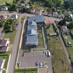 Lotissement à Thionville-Garche (Moselle), vue arrière