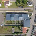 Lotissement à Thionville-Garche (Moselle), vue orthoplan