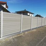 Multi Fence Hellgrau