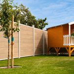 Multi Fence CO-Extrusion Lightbrown