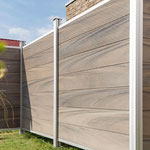 Multi Fence CO-Extrusion Silvergrey