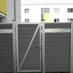 Multi Fence Tor Hellgrau