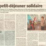 Paru dans L'Echo du Roussillon, mai 2014