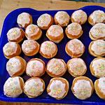 Die Muffins waren auch super lecker