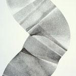 Monotypie auf Papier, 42cm x 30cm, Privatbesitz