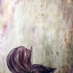 Violet flower 80 x 100