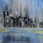 Blue Skyline 100 x 50 Euro 180,00