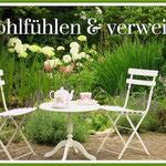 Wohlfühlen & verweilen im Helenenweg-Garten