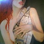 Ebe 2 100 x 80 cm acrilico su tela - venduto