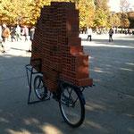 Vélo et briques