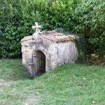 ste. ruffine, de heilige bron achter de kerk in biganon