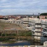 in oorsprong romeinse brug met 18 bogen