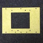 Platte aus Verbundwerkstoff (hier: GFK)