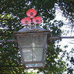 The Royal British Legion lamp over the Main Gate