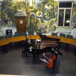 Luca Colardo e Sandra Conte, insegnanti di violoncello e pianoforte
