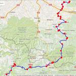 Jour 7: La Pobla de Segur/Cuxac Cabanès, 339 kms