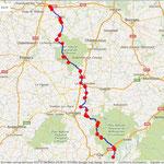 Jour 9: Marcillac-la-Croisille/Tours, 330 kms