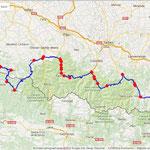 Jour 4: St Béat/St Jean-Pied-de-Port, 357 kms