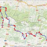 Jour 6: Jaca/La Pobla de Segur, 365 kms