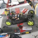 Ein Oldtimer im Einsatz in Trier: Losi XX4 mit Graupner Brushed Racing Combo