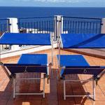 terrazzo solarium vista mare