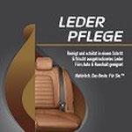 Etikett: Eco Touch Lederpflege: reinigt und schützt in einem Schritt,erfrischt ausgetrocknetes Leder, für Auto und Haushalt geeignet