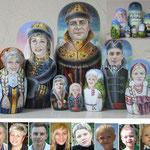 Ручная роспись лица
